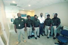 Darren Foy and Falken USVI Security Team